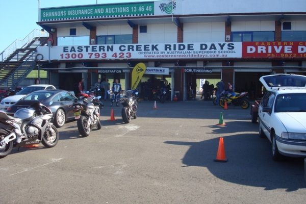 Eastern Creek Scruitineering