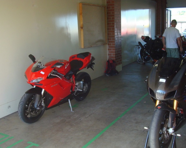 My 848, First Track Day!